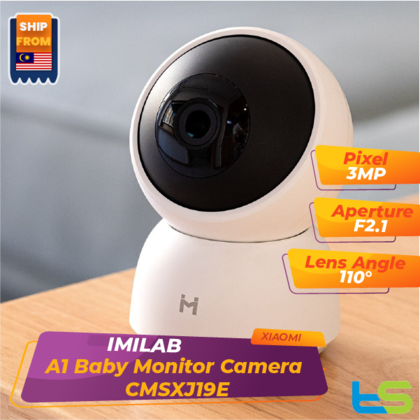 Xiaomi IMILAB A1 Smart Camera Baby Monitor IP Cam CCTV CMSXJ19E