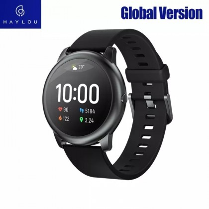 Xiaomi Haylou Solar LS05 Smart Watch 12 Sports Mode Fitness Android / iOS Smartwatch