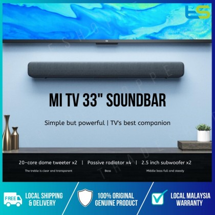"Xiaomi 33"" Mi TV Soundbar Home Theater Bluetooth / Optical Output / 3.5mm Jack Audio Sound Bar Speaker"