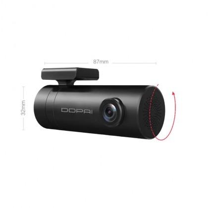 DDPAI MINI 1080P Super Capacitor Car DVR Discreet Dash Cam - Black